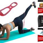 élastique fitness fessier > Techniques